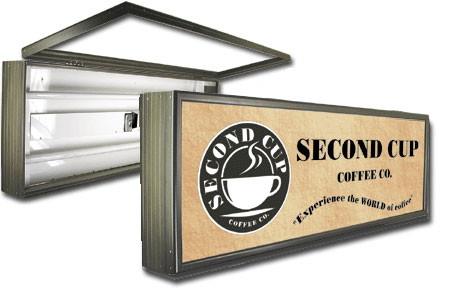 Lighted Signs Outdoor Lighted sign boxes workwithnaturefo